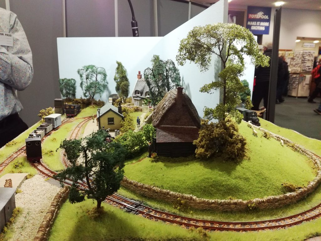 One of the smaller layouts